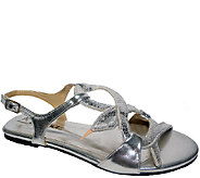 Bellini Multi-strap Sandals w/ Adjustable Backstrap - Devine - A336853