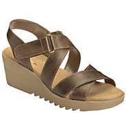 Aerosoles Heel Rest Platform Wedge Sandals - Handbog - A339753