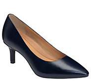 Aerosoles Heel Rest Leather Dress Pumps - DramaClub - A364053