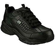 Skechers Mens Soft Stride Steel Toe SlipResistant Shoes - A185754