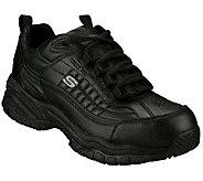 Skechers Mens Soft Stride Steel Toe SlipResistant Shoes - A185754
