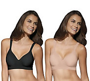 Bali Set of 2 Comfort Revolution Wirefree Bras - A233154