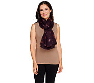 Nicole Richie Collection Floral Printed Scarf - A257554