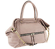 orYANY Jocelyn Italian Grain Leather Satchel - A258154