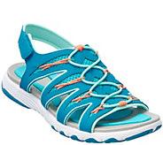 As Is Ryka Fisherman Sandals w/ Foam Flexology - Glance - A286354