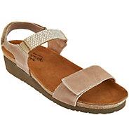 Naot Leather Embellished Sandals - Lisa - A288154