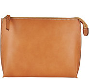 G.I.L.I. Italian Leather Pick-Stitch Pouch - A293054