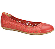 Softspots Carajean Leather Flats - A332654