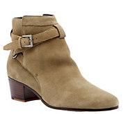 Sole Society Leather or Suede Ankle Booties - Leo - A355954