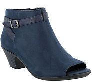 Easy Street Peep Toe Booties - Sparrow - A359554