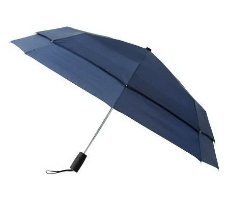 Leighton falcon automatic double canopy windefyer umbrella page 1 - Parasol double pente ...