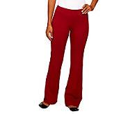 Women with Control Regular Contour Waist Boot Cut Pants - A219255