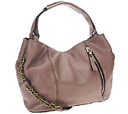 orYANY Italian Leather Satchel with Chain Strap -Bethanie - A258155