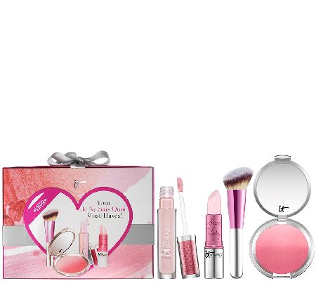 IT Cosmetics Je Ne Sais Quoi 4pc Holiday Collection with Gift Box - A266455