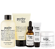 philosophy renewed 5 pc makeup optional skincare system - A267155