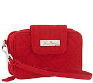 As Is Vera Bradley Microfiber Smartphone Wristlet 2.0 - A271955