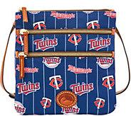 Dooney & Bourke MLB Nylon Twins Triple Zip Crossbody - A281555