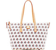 Dooney & Bourke NCAA Ohio State University Zip Top Shopper - A283255