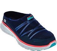 As Is Skechers Mesh Bungee Slip-on Sneakers - Air Streamer - A284555