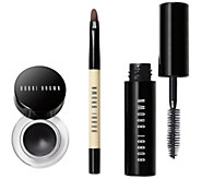 Bobbi Brown Long Wear Gel Eyeliner with Mini Brush & Mascara - A296055
