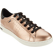 GEOX Leather Lace-up Sneakers - Jaysen - A298855