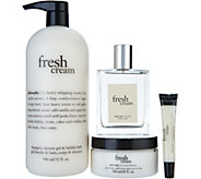 philosophy fresh cream 4-piece layering set - A299755