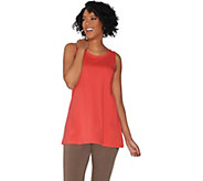LOGO Principles by Lori Goldstein Cotton Modal Knit Tank - A305455