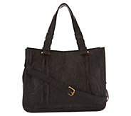 American Leather Co. Glove Leather Convertible Satchel Handbag - A307855