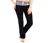 90 Degree by Reflex Pull On Boot Cut Active Pants - A331055