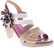Spring Step LArtiste Leather Sandals - Plato - A336055