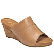 A2 by Aerosoles Wedge Slide Sandals - Light N Sweet - A339555