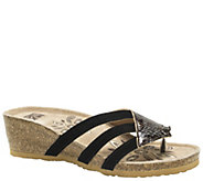 MUK LUKS Womens Allison Wedge Sandals - A340055