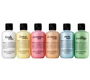 philosophy 6-piece shower gel set - A340955