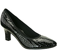 David Tate Patent Leather Pumps - Peggy - A341455