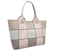 As Is orYANY Summer Pebbled Leather Tote - A258956