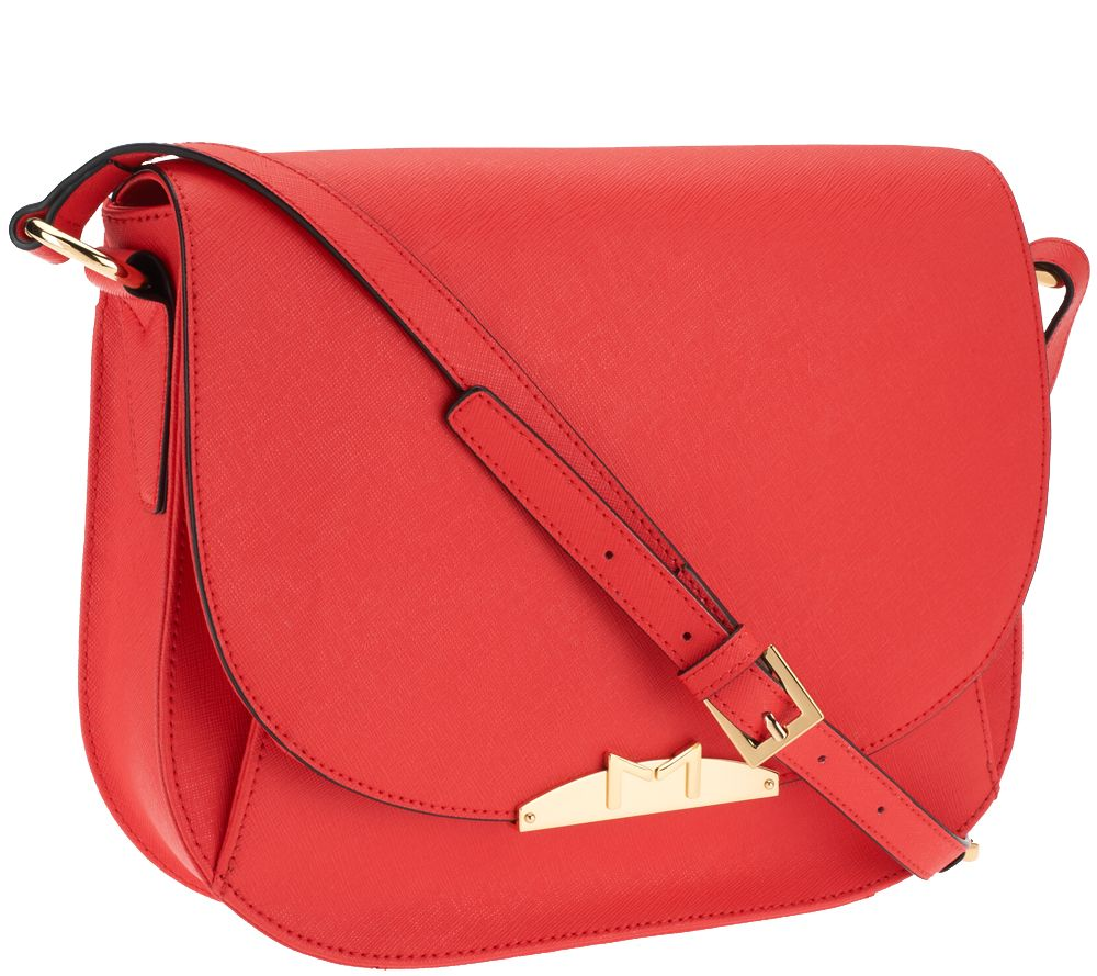 Marc Fisher Harper Leather Saddle Bag