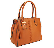 As Is Aimee Kestenberg Pebble Leather Tote - A267356