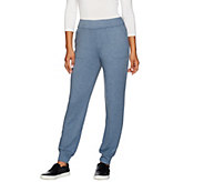 LOGO Lounge by Lori Goldstein French Terry Pants with Pockets - A269956