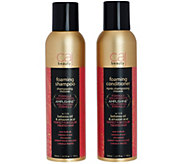 CAJ Beauty 6.7 fl. oz. Foaming Shampoo and Conditioner - A271756