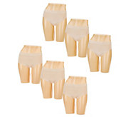 Breezies Choice of Set of 3 Seamless Panties - A272956