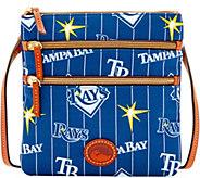 Dooney & Bourke MLB Nylon Rays Triple Zip Crossbody - A281556