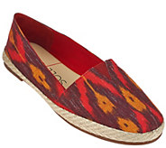 As Is Sole Society Printed Espadrille Slip-ons - Xander - A284056