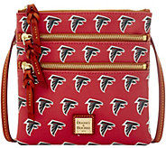 Dooney & Bourke NFL Falcons Triple Zip Crossbody - A285656