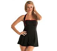 Carol Wiors Classic 4-Way Bandeau Swim Dress - A315656