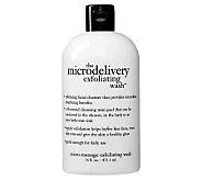philosophy the microdelivery exfoliating wash,16 oz - A318156