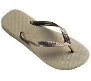 Havaianas Womens Top Metallic Flip-Flops - A327756