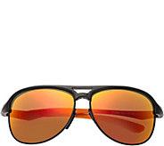 Breed Jupiter Aluminium Black Sunglasses w/ Polarized Lenses - A361256