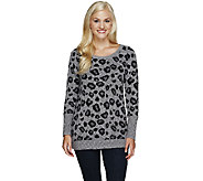 Edge by Jen Rade Animal Jacquard Sweater - A256657