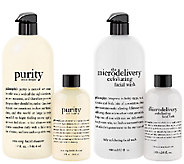 philosophy purity and microdelivery wash collection Auto-Delivery - A268957