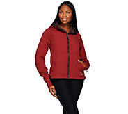 Loki 4-in-1 Womens Mountain Hoodie w/Built In Gloves - A269457